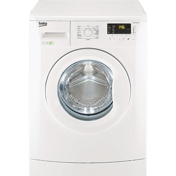 Beko WMB71233M Libera installazione Caricamento frontale 7kg 1200Giri/min A+++ Bianco lavatrice  WMB71233M TP2_WMB71233M
