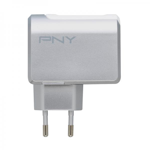 PNY PNY P-AC-2UF-SEU01-RB Interno Bianco caricabatterie per cellulari e PDA