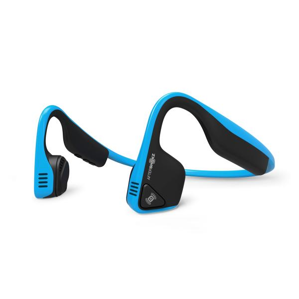 Aftershokz Trekz Titanium Passanuca Stereofonico Bluetooth Nero, Blu auricolare per telefono cellulare 0858510003413 AT0993 TP2_AT0993