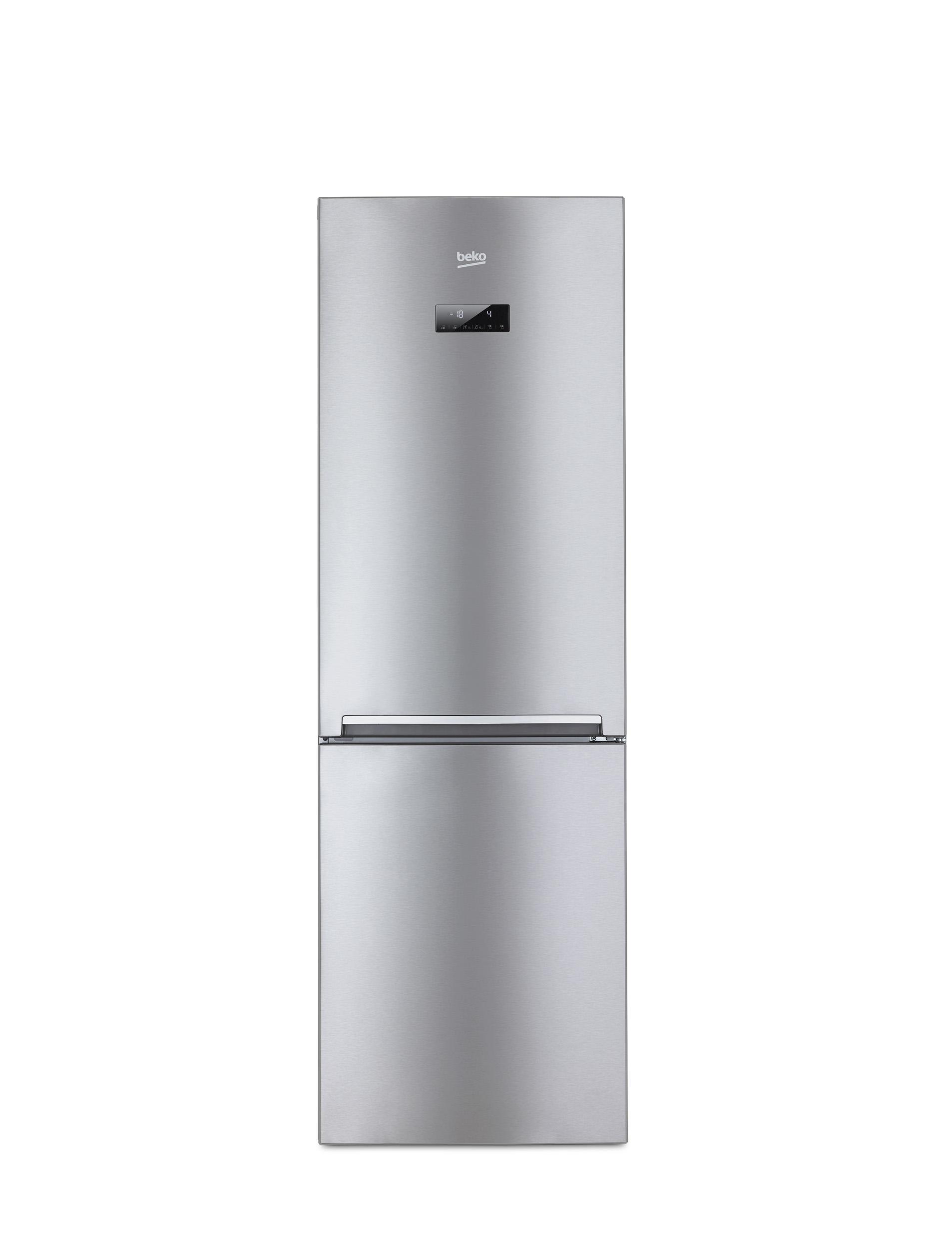Beko CNA365EC0X Libera installazione 283L A+ Acciaio inossidabile frigorifero con congelatore  CNA365EC0X TP2_CNA365EC0X