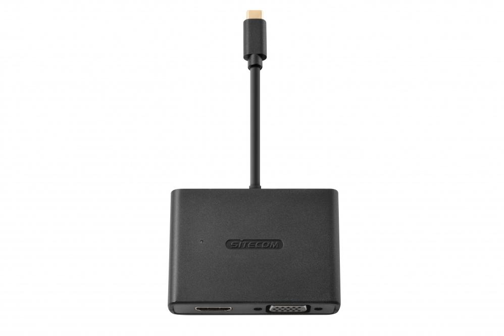 Sitecom CN-363 USB-C to HDMI / VGA 2-in-1 Adapter 8716502030354 CN-363 10_R271165