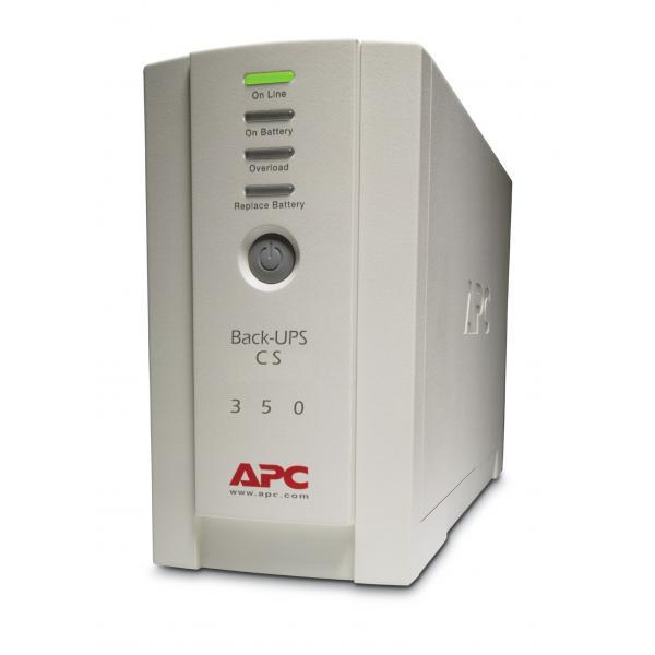 APC Back-UPS Standby (Offline) 350VA 4presa(e) AC Torre Beige gruppo di continuità (UPS) 0731304016342 BK350EI 10_2700855