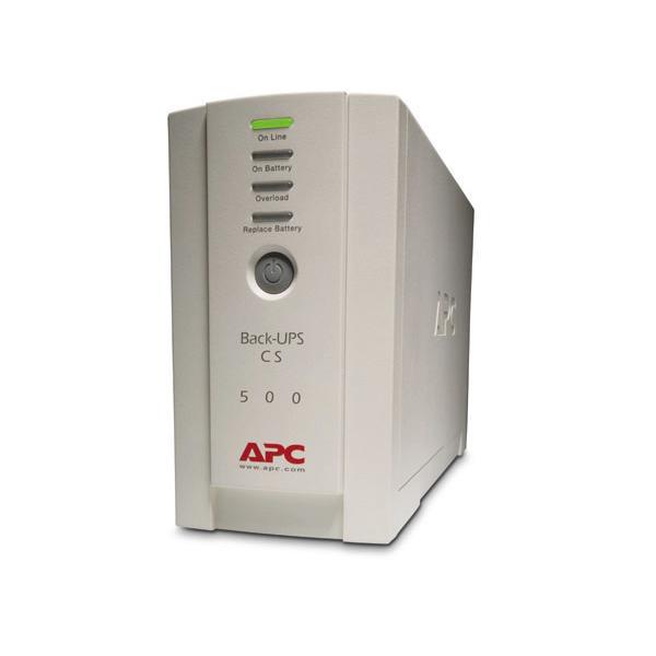 APC APC Back-UPS gruppo di continuità (UPS) 500 VA 4 presa(e) AC Standby (Offline)