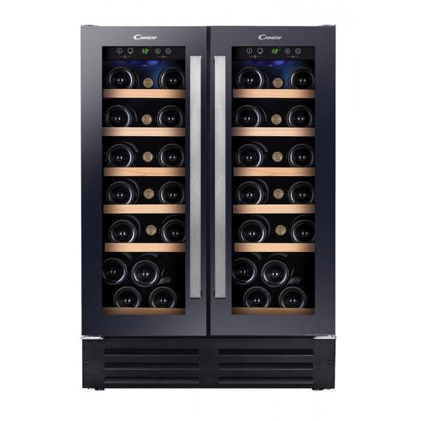 Candy CCVB 60D Libera installazione Cantinetta vino con compressore Nero 38bottle(s) D 8016361808379 34900428 08_34900428