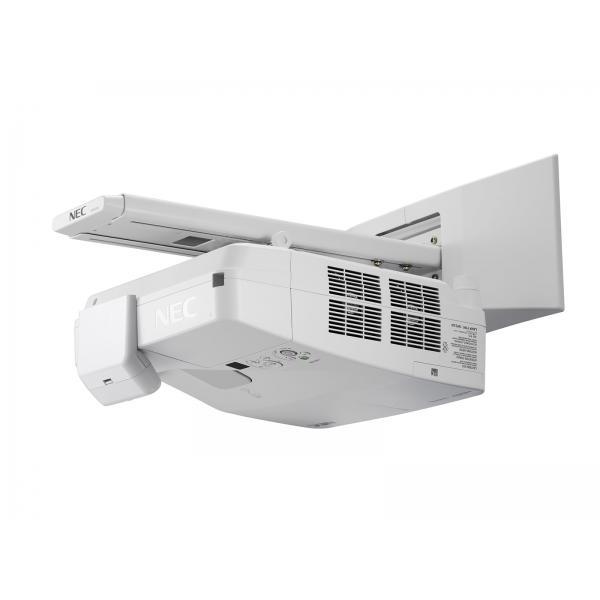 VIDEOPROIETTORE NEC UM301Wi Ottica UltraCorta MULTIPEN INTERAT con PENNE 3LCD WXGA 6000/3000:1 2HDMI 1x20WStaffa,penne incluse