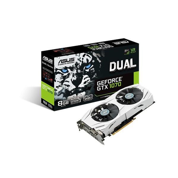ASUS DUAL-GTX1070-8G GeForce GTX 1070 8GB GDDR5 4712900484960 90YV09T4-M0NA00 10_B99X002