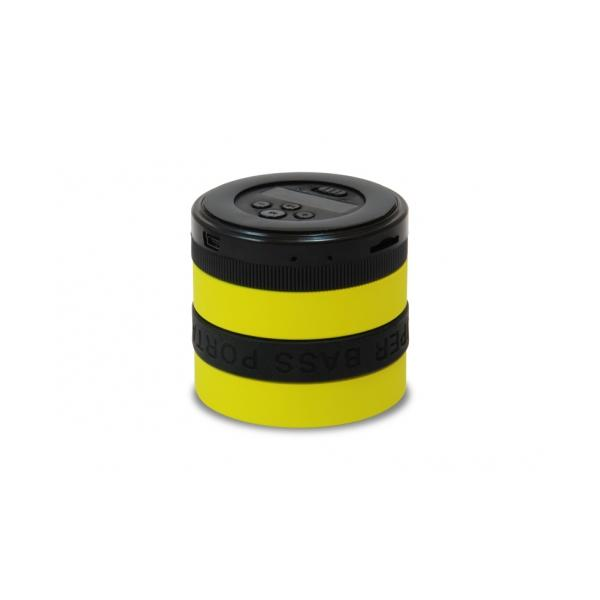 Conceptronic WIRELESS SUPERBASS SPEAKER YELLOW