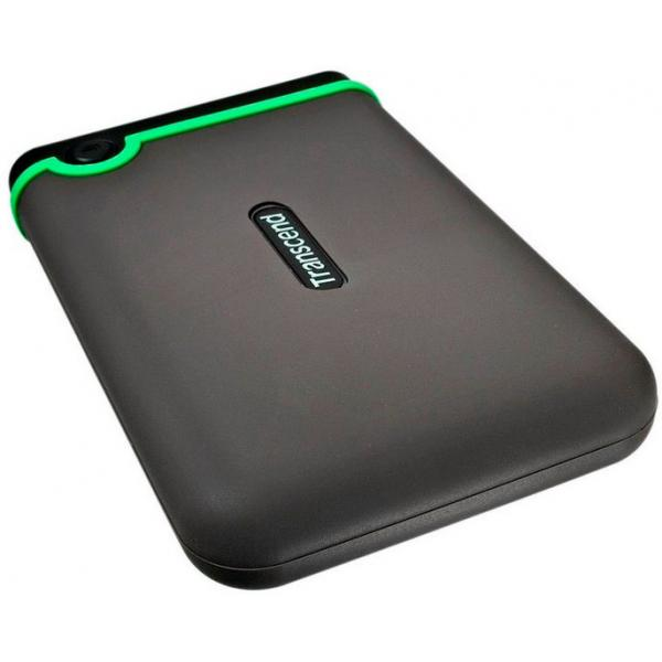 Transcend StoreJet 25MC 1000GB Nero, Verde disco rigido esterno 0760557836513 TS1TSJ25MC TP2_TS1TSJ25MC