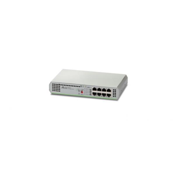 Allied Telesis AT-GS910/8E-50 Non gestito Gigabit Ethernet (10/100/1000) Grigio