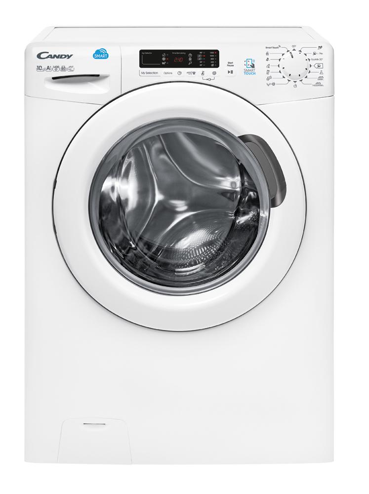 Candy GVS 137DC3-01 Libera installazione Caricamento frontale 7kg 1300Giri/min A+++ Bianco lavatrice 8016361926820 31007373 TP2_31007373