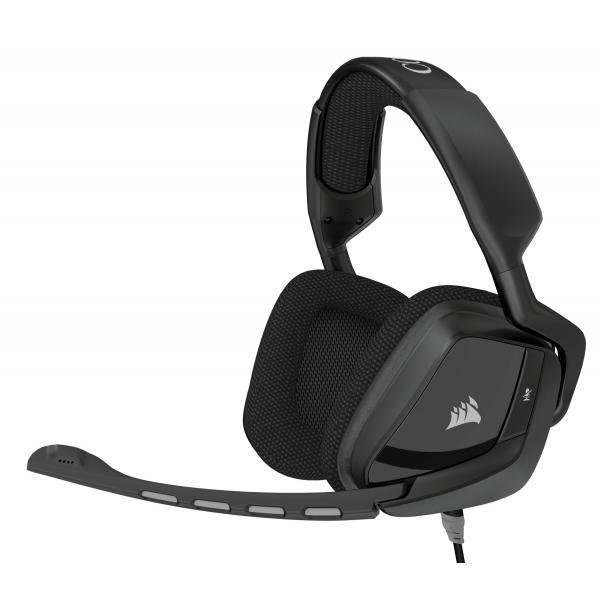 Corsair VOID Surround Dolby 7.1 Stereofonico Padiglione auricolare Nero cuffia e auricolare 0843591089708 CA-9011146-EU TP2_CA-9011146-EU