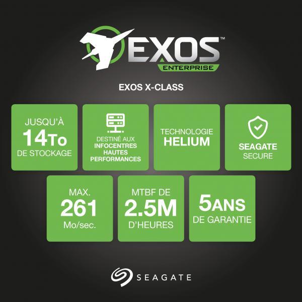 Hard Disk Interno Exos X Capacità 10TB 3.5