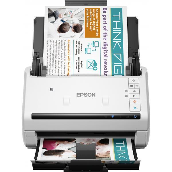 Epson WorkForce DS-570W Scanner a foglio 600 x 600DPI A4 Bianco 8715946552057 B11B228401 14_B11B228401