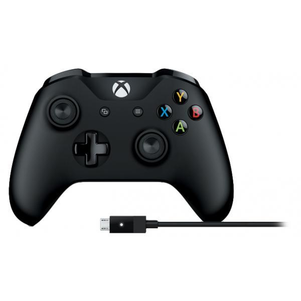 Microsoft 4N6-00002 Gamepad PC,Xbox One Nero periferica di gioco 0889842121971 4N6-00002 TP2_4N6-00002