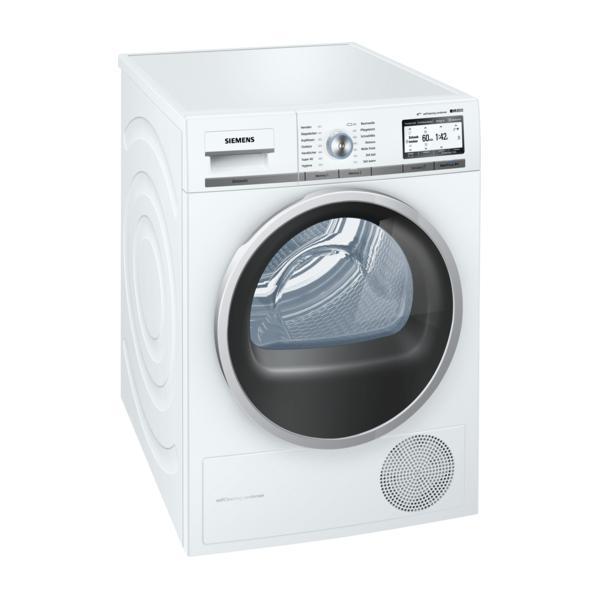 Siemens WT7YH701 Libera installazione Carica frontale 8kg A+++-10% Acciaio inossidabile, Bianco asciugatrice 4242003780640 WT7YH701 04_90664578