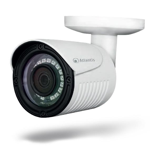 Atlantis Land AHD-821B IP security camera Esterno Capocorda Bianco 8026974001791 A09-AHD-821B 10_R290878