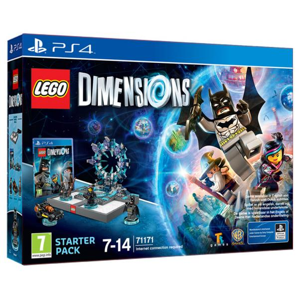 Warner Bros Lego Dimensions - Starter Pack, PS4 Confezione Starter PlayStation 4 Inglese videogioco  1000603366 TP2_1000603366