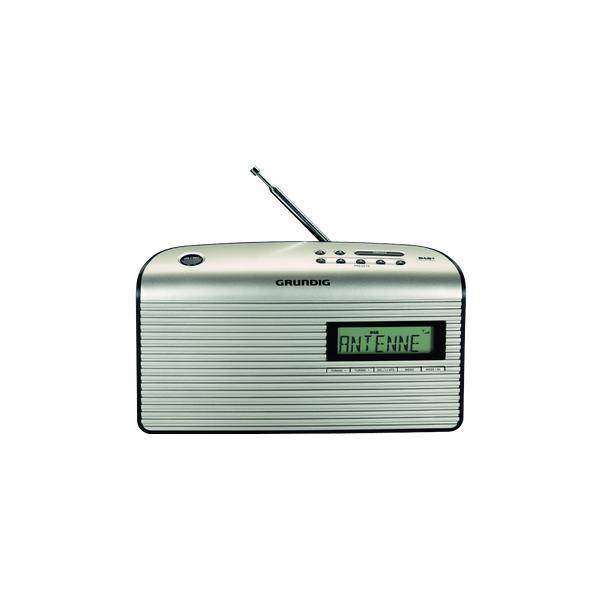 Grundig Music 7000 DAB+ nero / perlato GRR3250