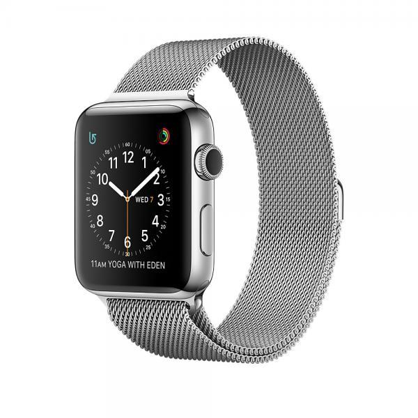 Apple Watch Series 2 OLED 41.9g Acciaio inossidabile smartwatch 0190198129246 MNP62QL/A 08_MNP62QL/A
