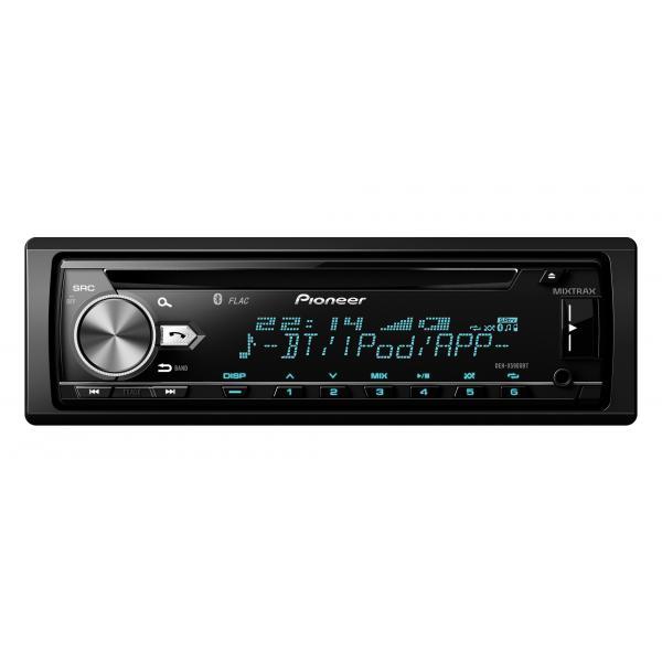 Pioneer DEH-X5900BT Bluetooth Nero, Argento autoradio 4988028341588 DEH-X5900BT TP2_DEH-X5900BT