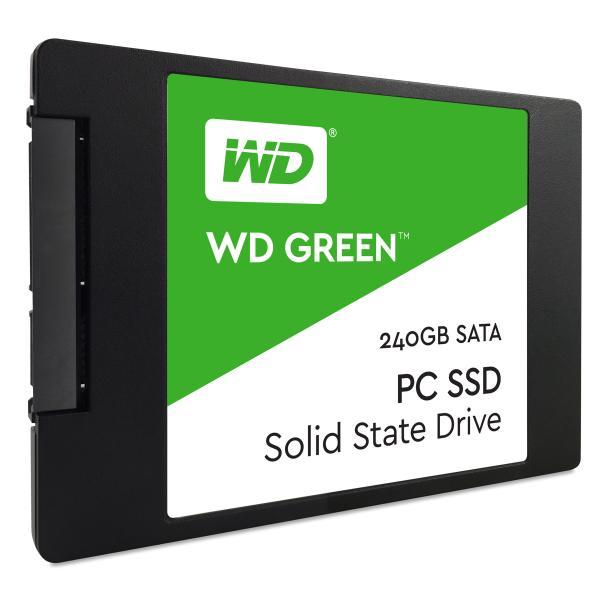 Western Digital Green PC SSD 240GB Serial ATA III 0718037852966 WDS240G1G0A COM_06881