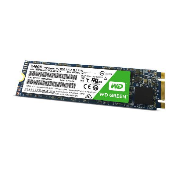 Western Digital Green PC SSD 240GB Serial ATA III 0718037853000 WDS240G1G0B COM_06868