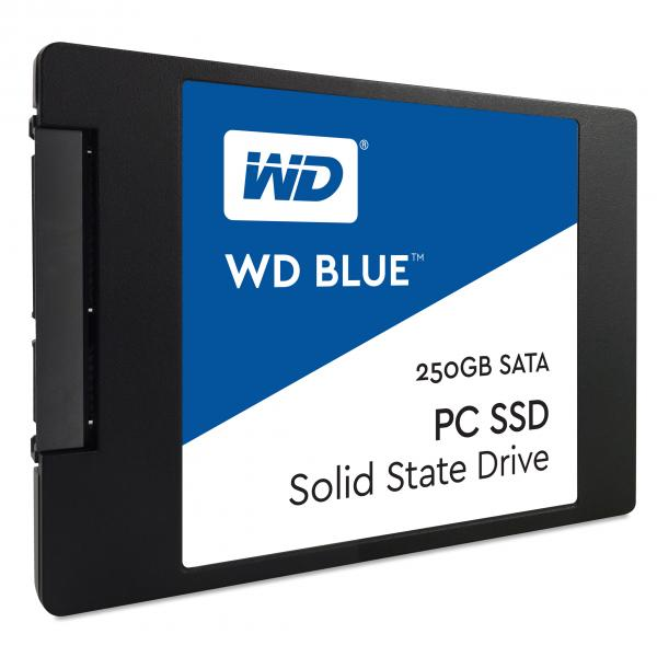 Western Digital Blue PC SSD 250GB Serial ATA III 0718037852881 WDS250G1B0A COM_06865