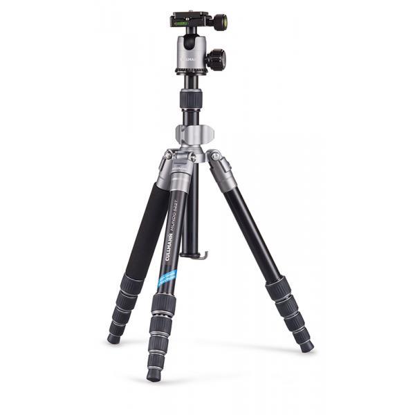 Cullmann MUNDO 522T Fotocamere digitali/film 3gamba/gambe Nero, Argento treppiede