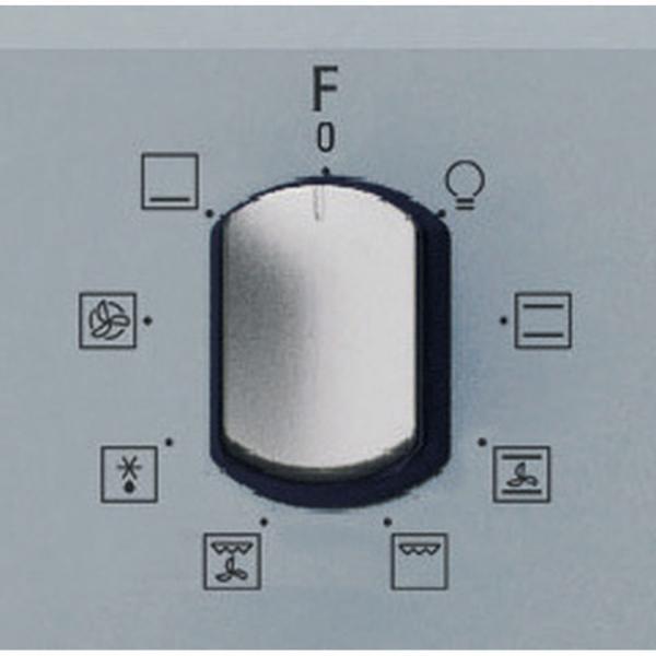 FID834HSLHA Hotpoint Incasso Forno Diamond, Classe A, 3 Manopole esterne, 8 fun S_0128_FID 834 H SL HA