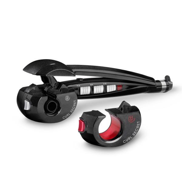 BaByliss C1300E Curl Secret - Arricciacapelli per Ricci e Onde da Spiaggia, 2 Testine Intercambiabili