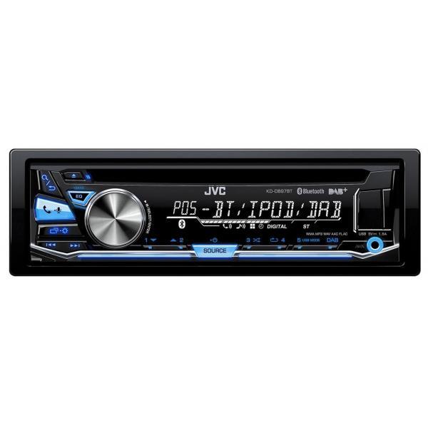 JVC KD-DB97BT 200W Bluetooth Nero autoradio 4975769434570 KDDB97BTANT 04_90669993