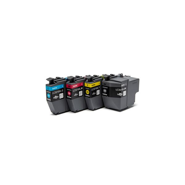 Brother LC-3219XLVAL 3000pagine 1500pagine Nero, Ciano, Giallo cartuccia d'inchiostro 4977766767019 LC3219XLVAL COM_60612