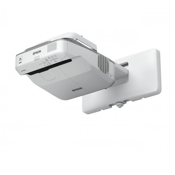Epson EB-675W Proiettore montato a muro 3200ANSI lumen 3LCD WXGA (1280x800) Grigio, Bianco videoproiettore 8715946605234 V11H745040 14_V11H745040