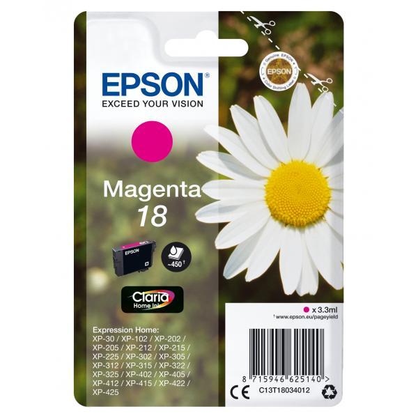 Epson cartuccia magenta Claria Home T 180         T 1803 C13T18034012