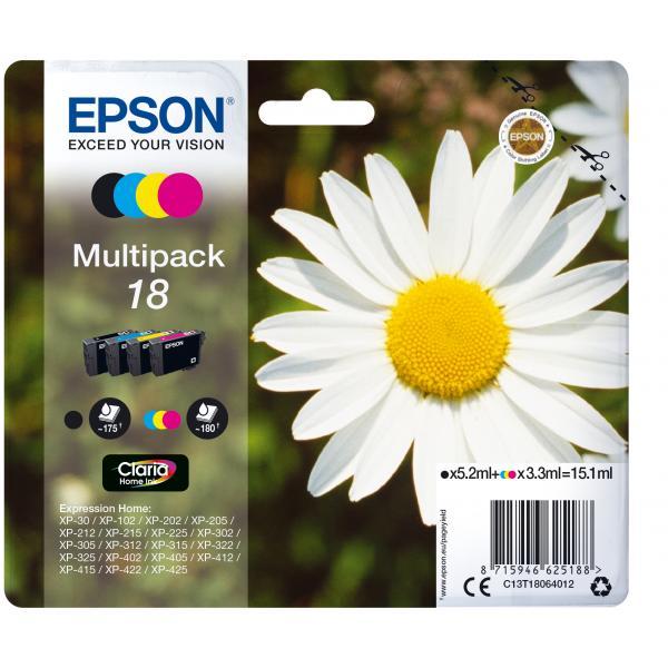 Epson Epson Multipack 18 (4 colori)