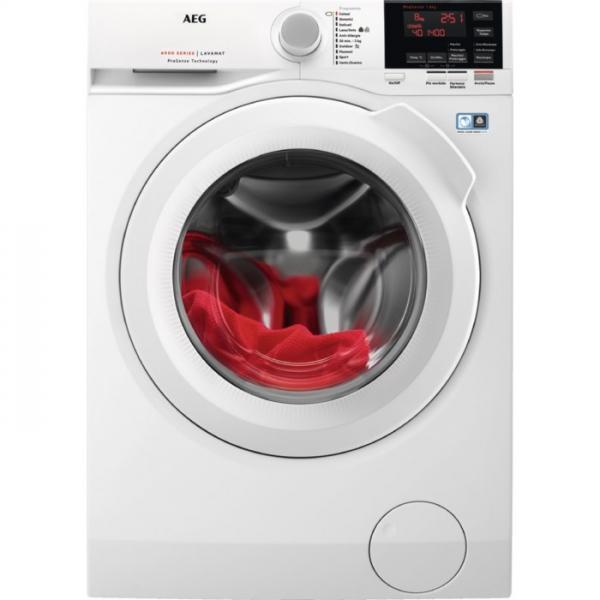 AEG L6FBG841 Libera installazione Caricamento frontale 8kg 1400Giri/min A+++ Bianco lavatrice  L6FBG841 TP2_L6FBG841