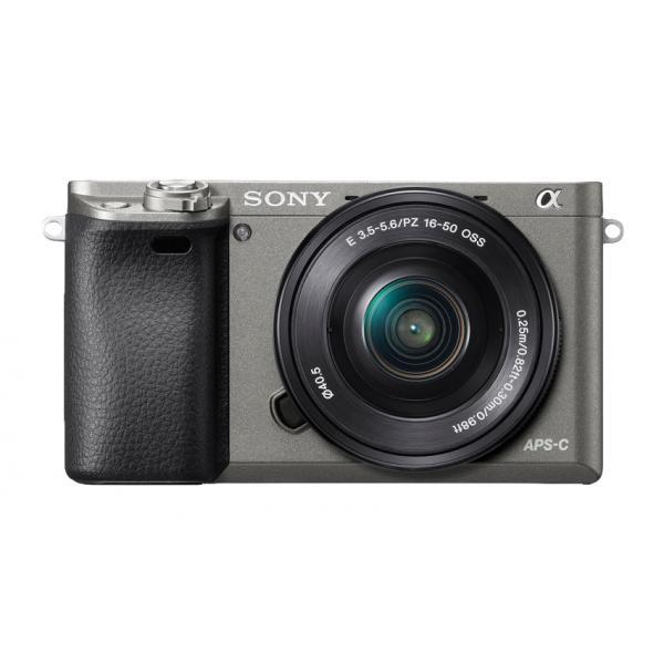 FOTOCAMERA MIRRORLESS Sony Alpha ILCE-6000L + 16-50mm Grey Garanzia Import Menu italiano