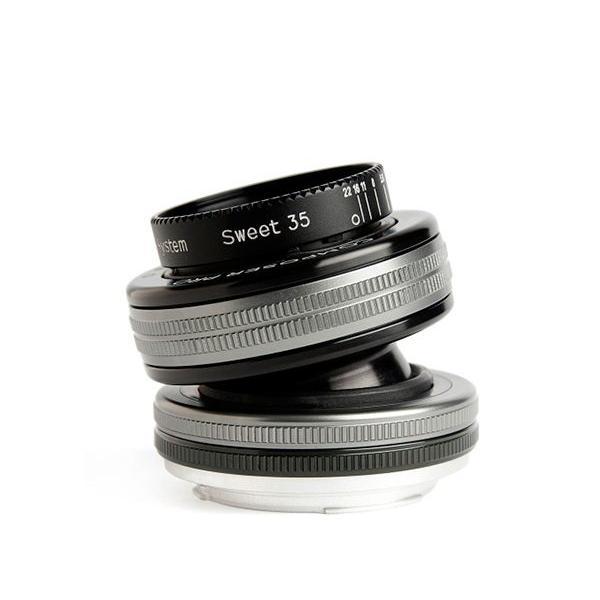Lensbaby Composer Pro II with Sweet 35 Optic SLR Nero, Argento