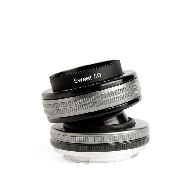 Lensbaby Composer Pro II with Sweet 50 Optic SLR Black, Argento
