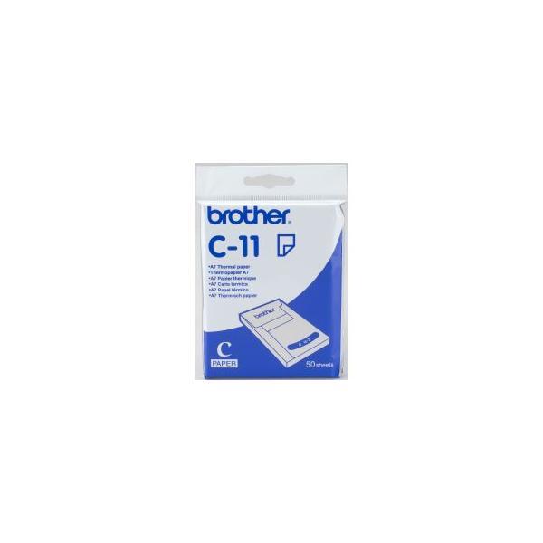 Brother C-11 A7 carta termica 4977766606264 C11 10_5831059