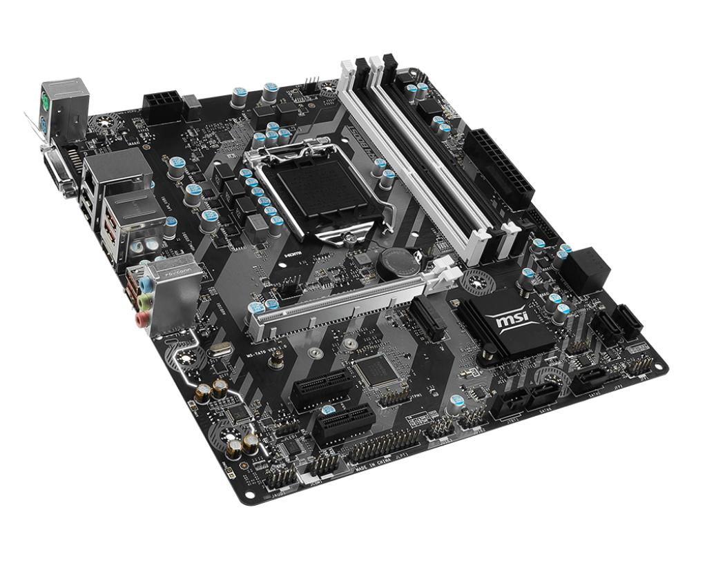 MB MSI B250M BAZOOKA LGA1151 (KABILAKE) 4DDR4 DVI+HDMI 3*PCIe 6*SATA3 6*USB mATX