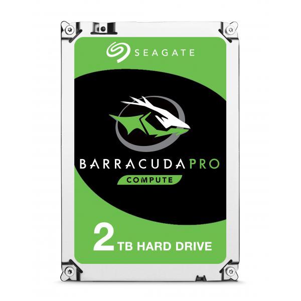 SEAGATE - INT HDD DESKTOP BARRACUDA PRO 2TB DESKTOP 3.5IN 7200RPM 6GB/S SATA 128MB