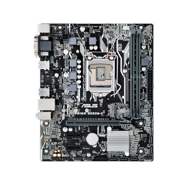 ASUS PRIME B250M-K Intel B250 LGA 1151 (Socket H4) Micro ATX scheda madre 4712900602258 90MB0T10-M0EAY0 COM_03776
