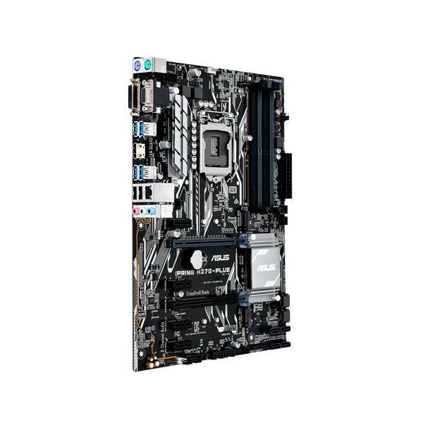 MB ASUS PRIME H270-PLUS (KABYLAKE) H270 LGA1151 4DDR4 VGA+HDMI+DVI 2*PCIe (RETROC. SKYLAKE) ATX