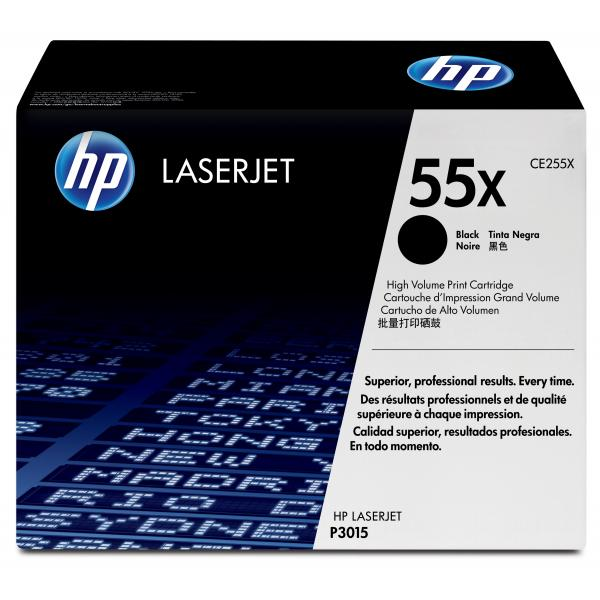 HP LaserJet CE255X Toner Cartridge BLACK - CE255X