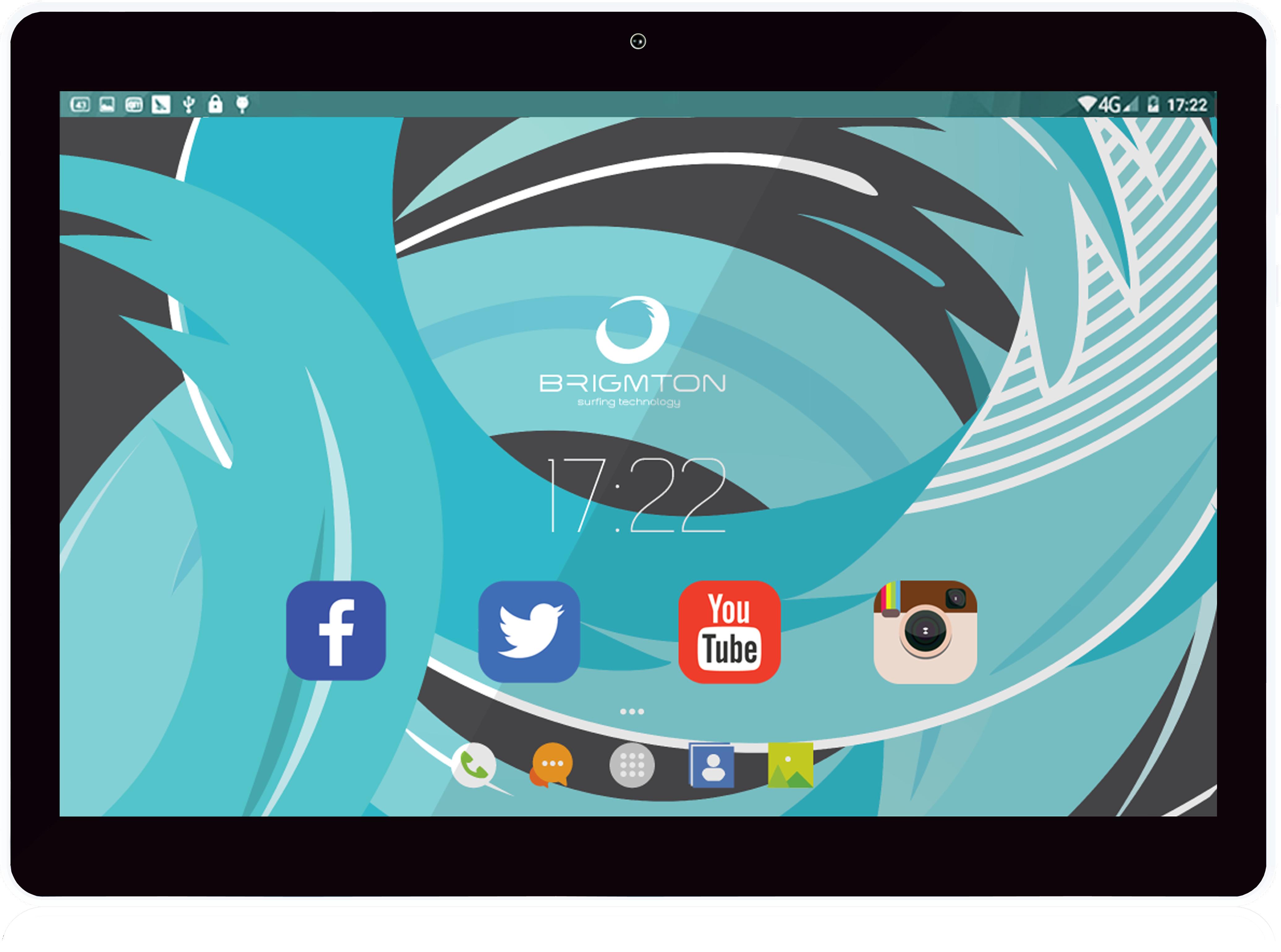 Brigmton BTPC-1019 16GB Nero, Bianco tablet 8425081016658  02_S0402529