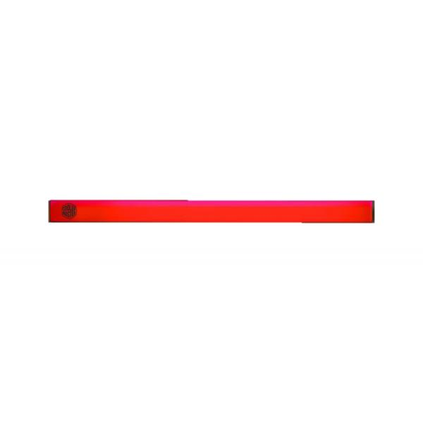 ACCESSORIO COOLER MASTER MCA-U000R-RLS000 2pcs , Universal LED strip Red with magnetic grip, aluminum housing