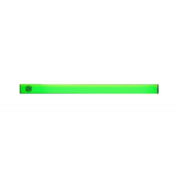 ACCESSORIO COOLER MASTER MCA-U000R-GLS000 2pcs , Universal LED strip Green with magnetic grip, aluminum housing