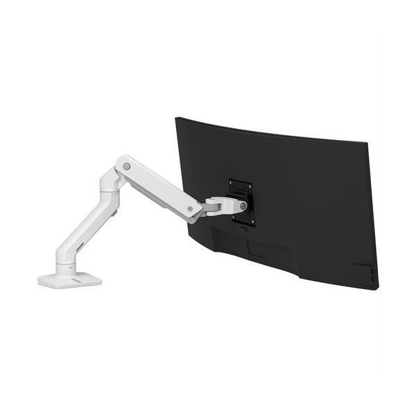 Ergotron HX Monitorarm Tischhalterung Weiß