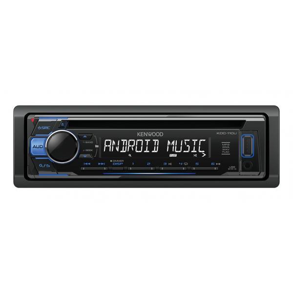 Kenwood KDC-110UB 200W Nero, Blu autoradio 0019048216762 KDC-110UB TP2_KDC-110UB